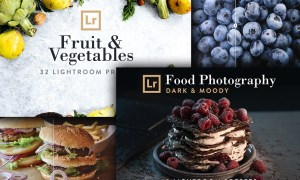 Food Bundle: 72 Lightroom Presets 2645142