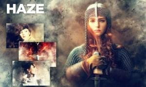 Haze Photoshop Action CS4+ SLTG6CF