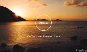 NATE K-Chrome V1.4 Lightroom & ACR Presets