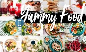 Neo Yummy Food Blue mobile lightroom presets