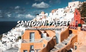 Santorini Lightroom Preset 3488220