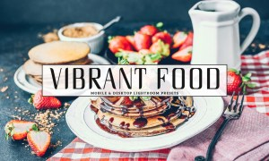 Vibrant Food Photography Lightroom Presets