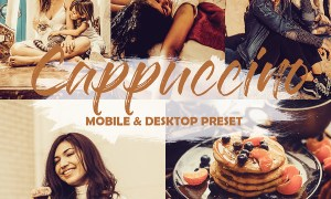 4 Mobile and Desktop Lightroom Presets Cappuccino 23851385