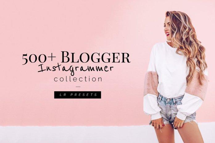 500+ Blogger Instagrammer LR Presets 1552610