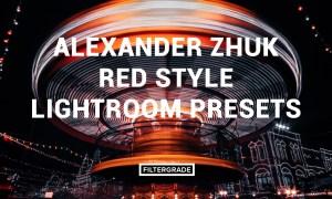 Alexander Zhuk Red Style Lightroom Presets