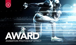Award Animation Photoshop Action DT4N35