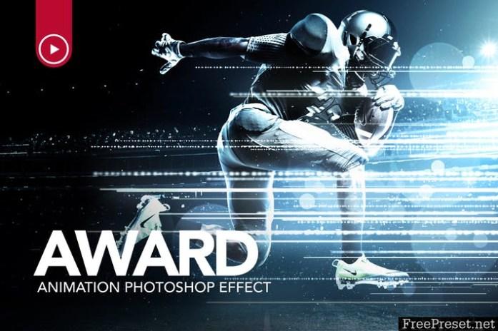 Award Animation Photoshop Action DT4N35