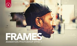 Frames Animation Photoshop Action YH4GWF