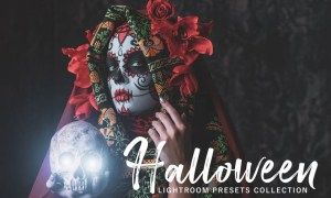 Halloween Lightroom Presets Pack 4KCYPX
