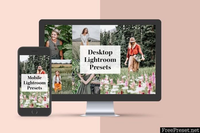 Insta Green Lightroom Mobile Presets 3707084