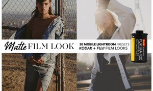 MATTE FILM Mobile Lightroom Presets 3702658