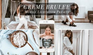 Mobile Lightroom Preset CREME BRULEE 3599197