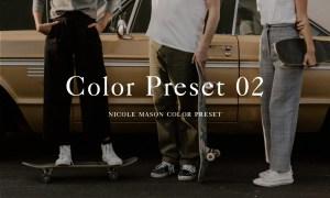 Nicole Mason Photography - Color Preset 02