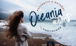 Oceania Photoshop Actions C6LVN5