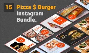 Pizza & Burger- Social Media Bundle 3753327