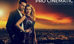 Pro Cinematic Photoshop Actions JQQ5TM