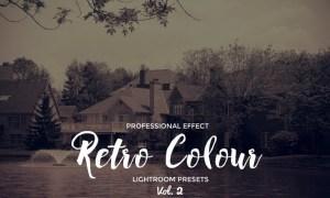 Retro Colour Lightroom Vol. 2 NUSCBB