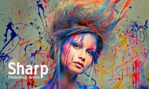 Sharp HDR Photoshop Action E853YU
