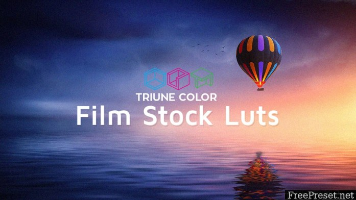 Triune Color: Film Stock LUTs (Win/Mac)