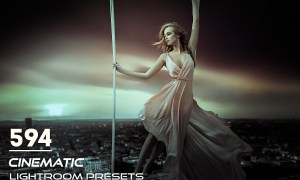 594 Cinematic Lightroom Presets 3817484