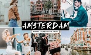 Amsterdam Mobile & Desktop Lightroom Presets