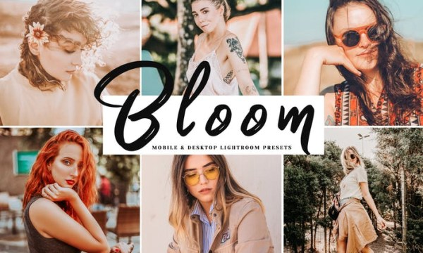 Bloom Mobile & Desktop Lightroom Presets