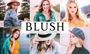 Blush Mobile & Desktop Lightroom Presets