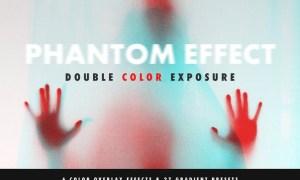 Double Color Exposure Effect 2ZC2U7