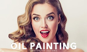 Oil Painting Photoshop Actions VGLWGA