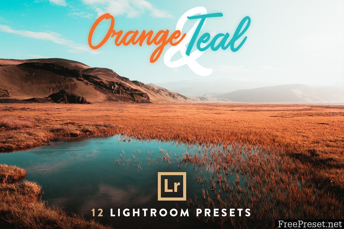 Orange Teal Lightroom Presets 2785053