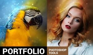 Portfolium - Post Processing Photoshop Action