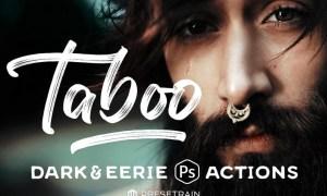 Taboo Dark Fantasy Photoshop Actions XZC6CH