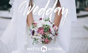 Wedday Matte Photoshop Action VWNEPF