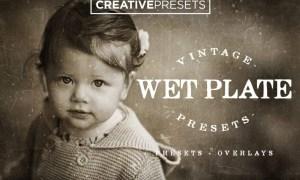 Wet Plate Lightroom Presets + Overlays