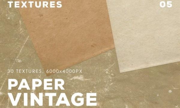 30 Vintage Paper Textures | 05 J7Y3W6Q - JPG