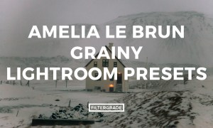 Amelia Le Brun Grainy Lightroom Presets