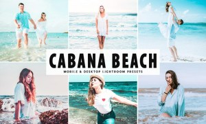 Cabana Beach Mobile & Desktop Lightroom Presets