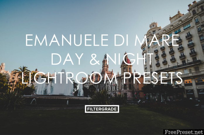 Emanuele Di Mare Day & Night Lightroom Presets