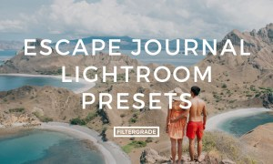 Escape Journal Lightroom Presets