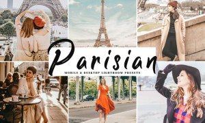Parisian Mobile & Desktop Lightroom Presets