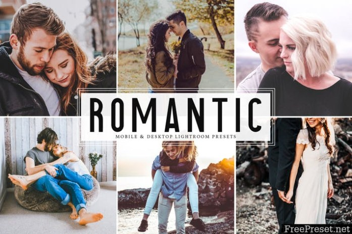 Romantic Mobile & Desktop Lightroom Presets