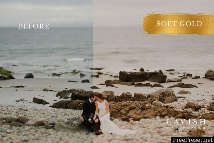 Soft Gold Wedding Presets 1527698