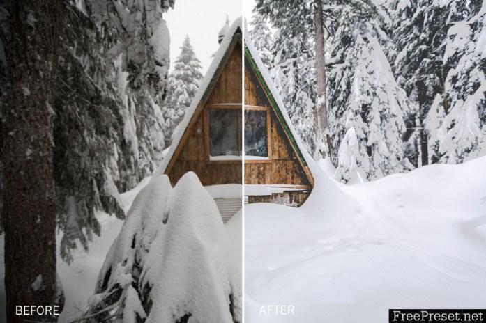 VancityWild Winter Escape Lightroom Presets