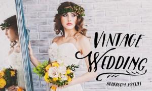 40 Vintage Wedding Lightroom Presets