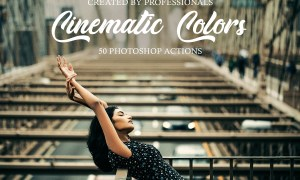 Cinematic Colors Photoshop Actions 3601006