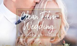 Clean Film Wedding Lightroom & PS 1299964