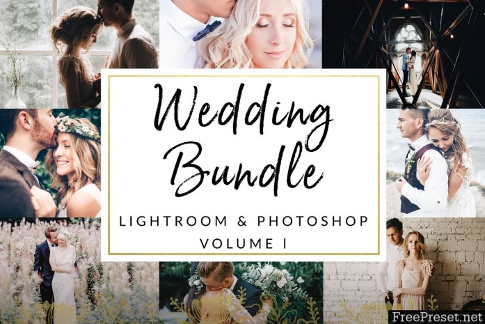 Wedding Bundle 75 Items LR and PS 1329513