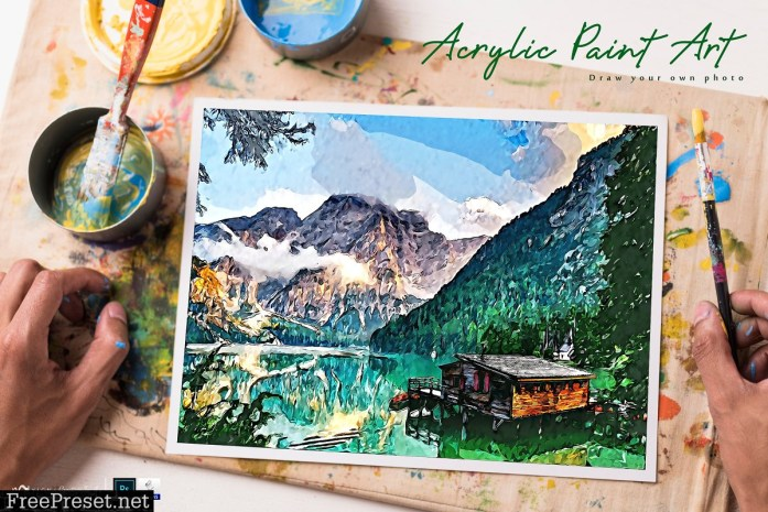 Acrylic Paint Art - PS Action 4027015