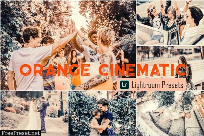 Orange Cinematic LR & ACR Presets 4068114