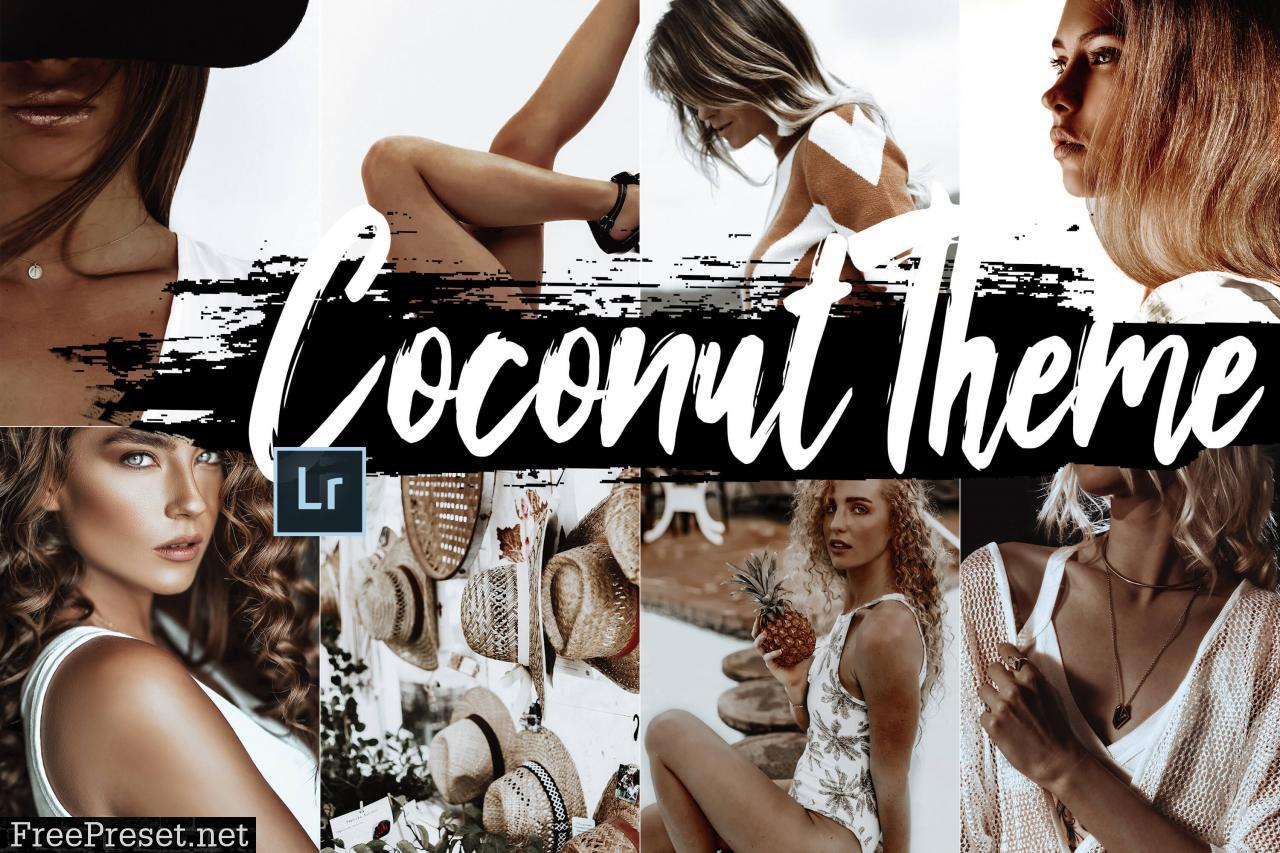 15 Coconut Adobe Lightroom Presets Blogger and Instagram Presets to Enhance photos  Adobe Lightroom Mobile  Best Presets  Bundle